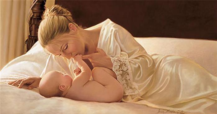 Для женщины дороже всех мужчин – На этот свет рождённый ею сын…