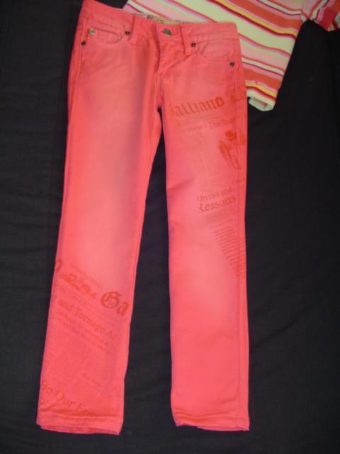 John  Galliano  джинсы  красивые  дд  р.116