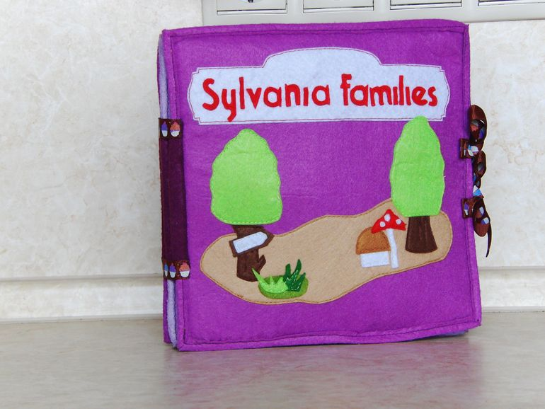 Sylvanian Families из фетра)