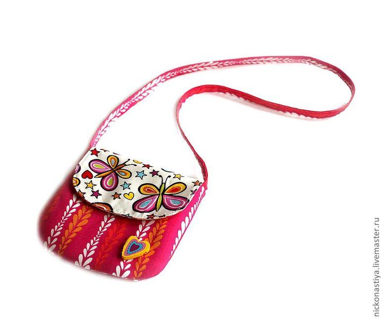 Маленькие сумочки своими руками из ткани