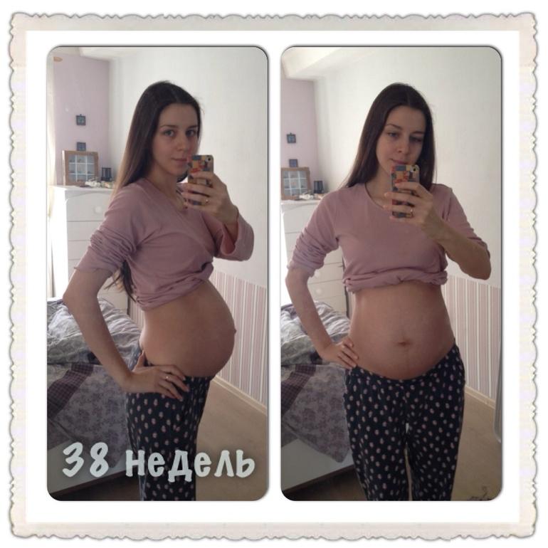 Опустился живот беременность 37 недель
