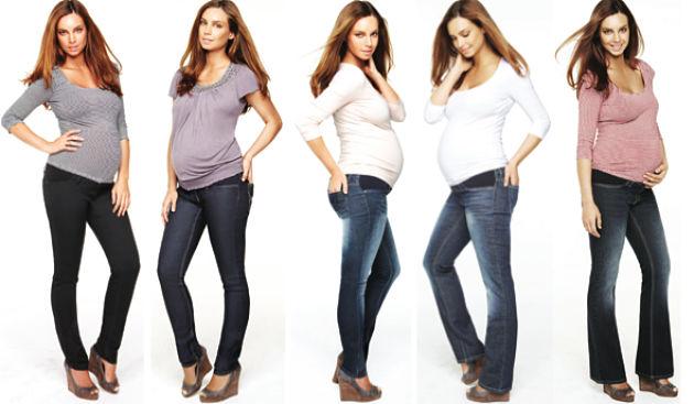 Брюки для беременных с чем носить 1103