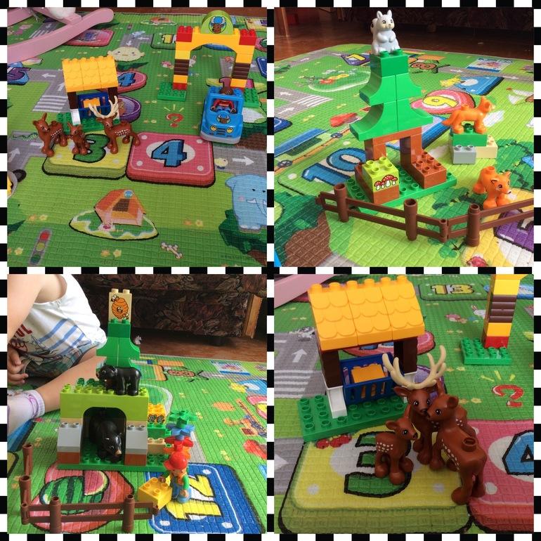 """Вот и наша очередь подошла делиться впечатлениями от набора LEGO DUPLO """"Лесной заповедник"""" 10584."""