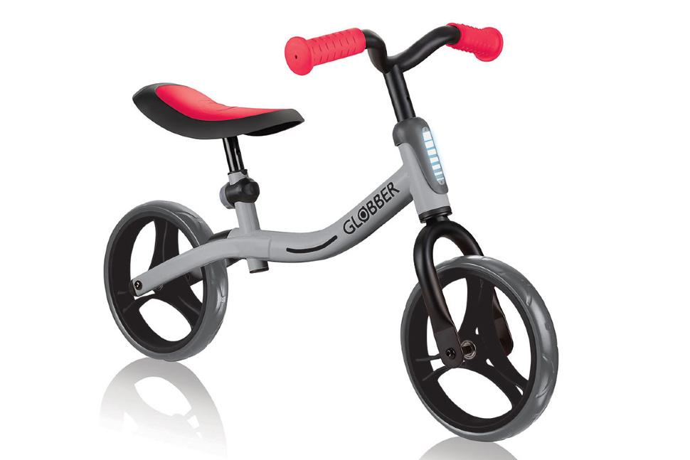 Беговел Globber Go Bike красный/серый
