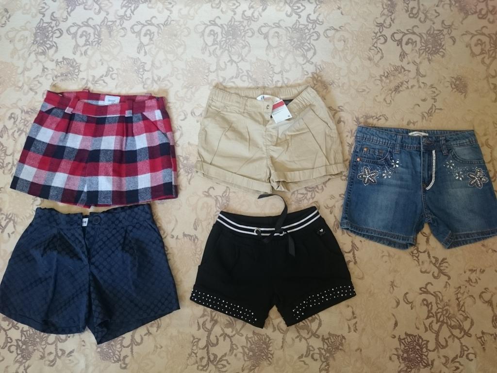 Футболки  шорты,лосины,джинсы,р.128-134