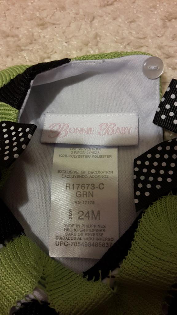 """Красивый и очень качественный костюм """" Bonnie Baby"""