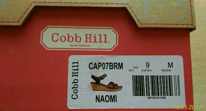 Босоножки Cobb Hill, eur 40,5