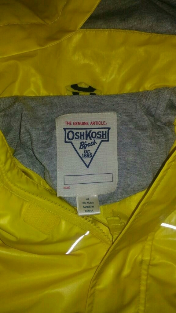 Непромокайка OshKosh, 4T