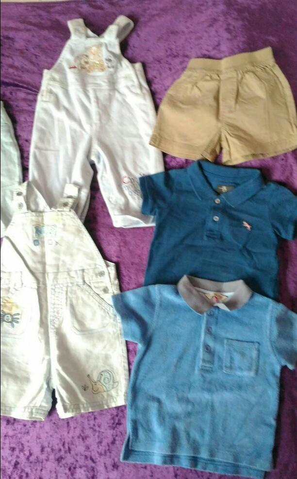 Пакет летней одежды д/м, 3-9мес