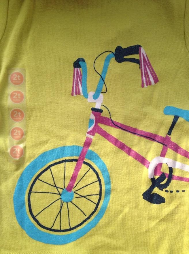 Футболка с велосипедом (новая)