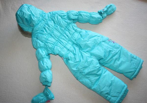 комбинезон зима 86-92 см  pampolina