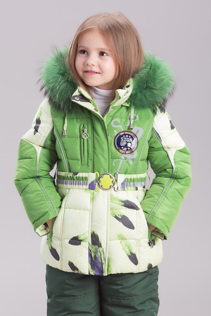 Зимние детские костюмы для девочек