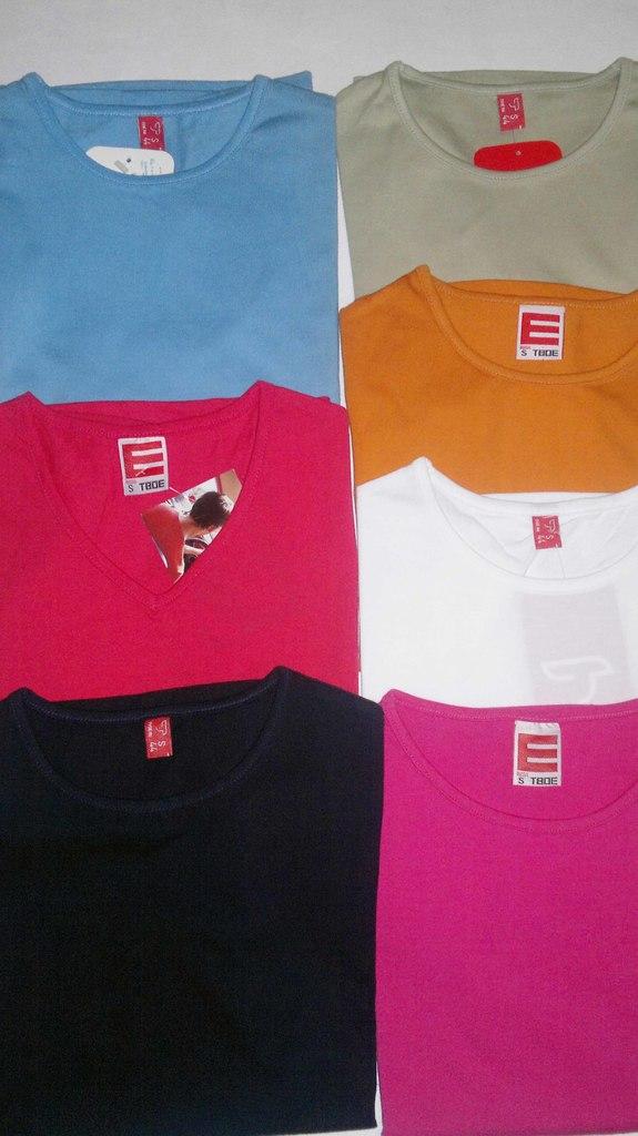 Новые футболки в ассортименте!!! Микс цветов!!!