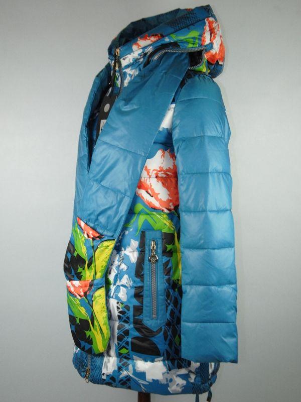 Новая красивая Куртка (холлофайбер)!!! 44-46 рр