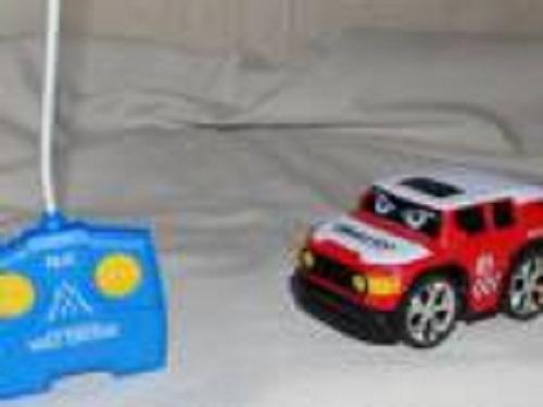 Машинка малышам на  р/у 13 см внедорожник 1 toy