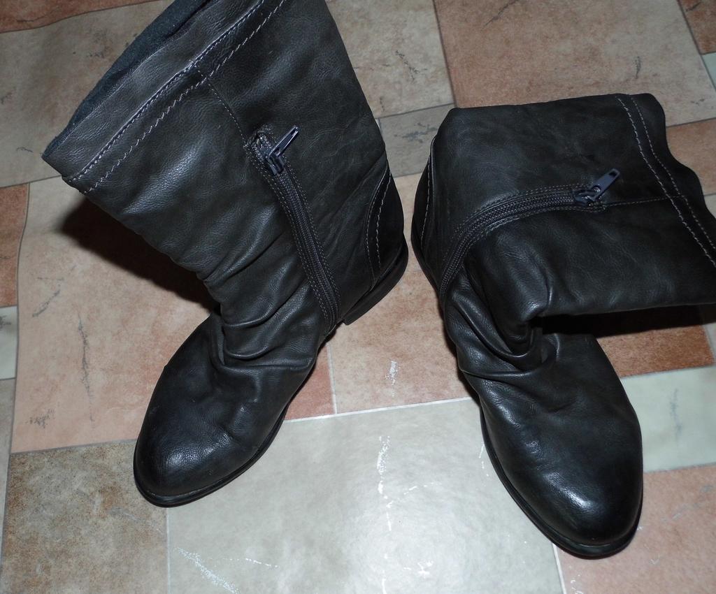 Ботинки кож. зам отдам даром