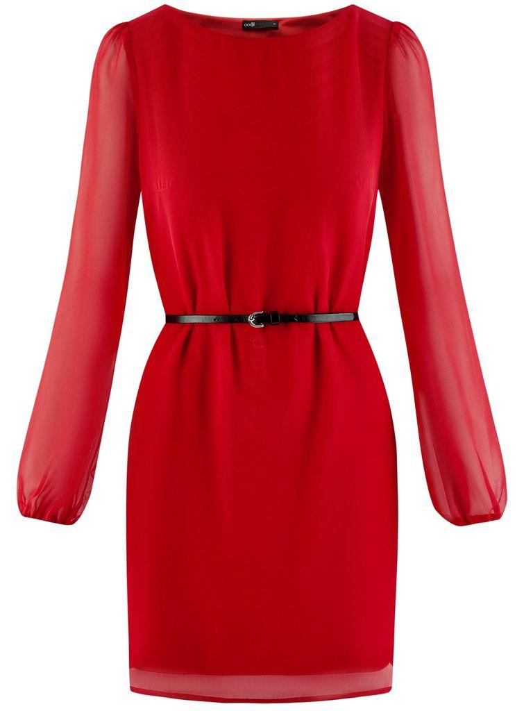 Платье новое с этикетками фирма OGGI р. 42 красное