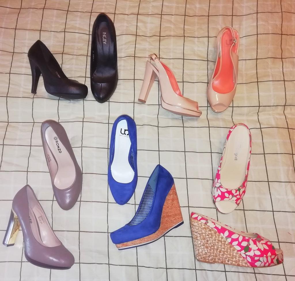 Куча новых туфлей! 5 пар размер 36-37 (23-23,5)