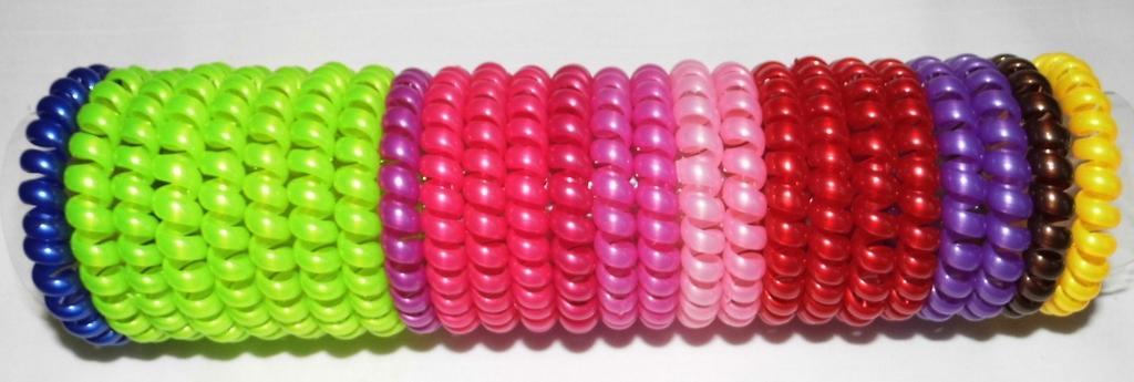 Новые резинки-пружинки яркие, прочные