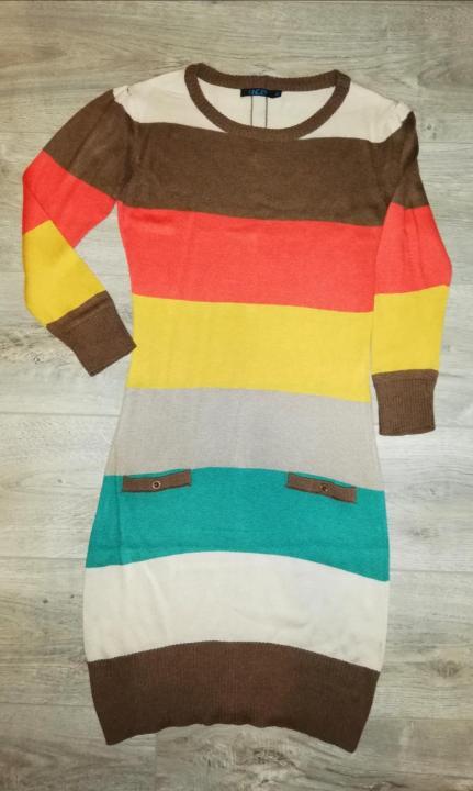 Платье - Туника Инсити р. 42, вязанная в хорошем с