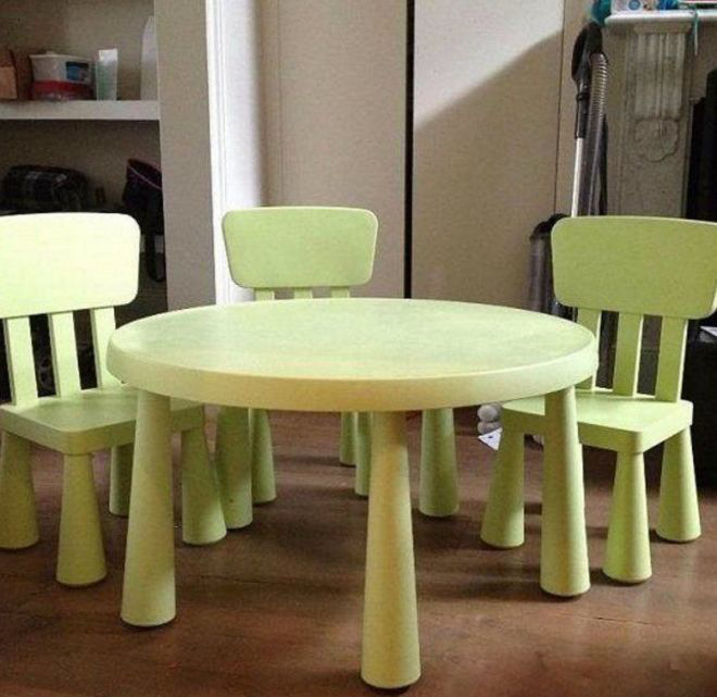 lkea стол и два стула