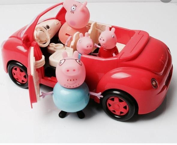 Свинка Пеппа! Машина Пикник