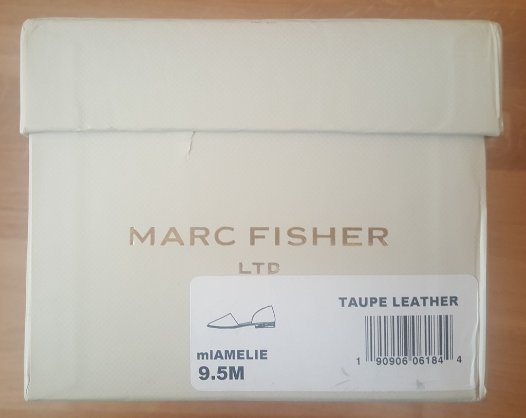 Туфли Marc Fisher р.9.5 US 9 (рос. 40.5). Новые