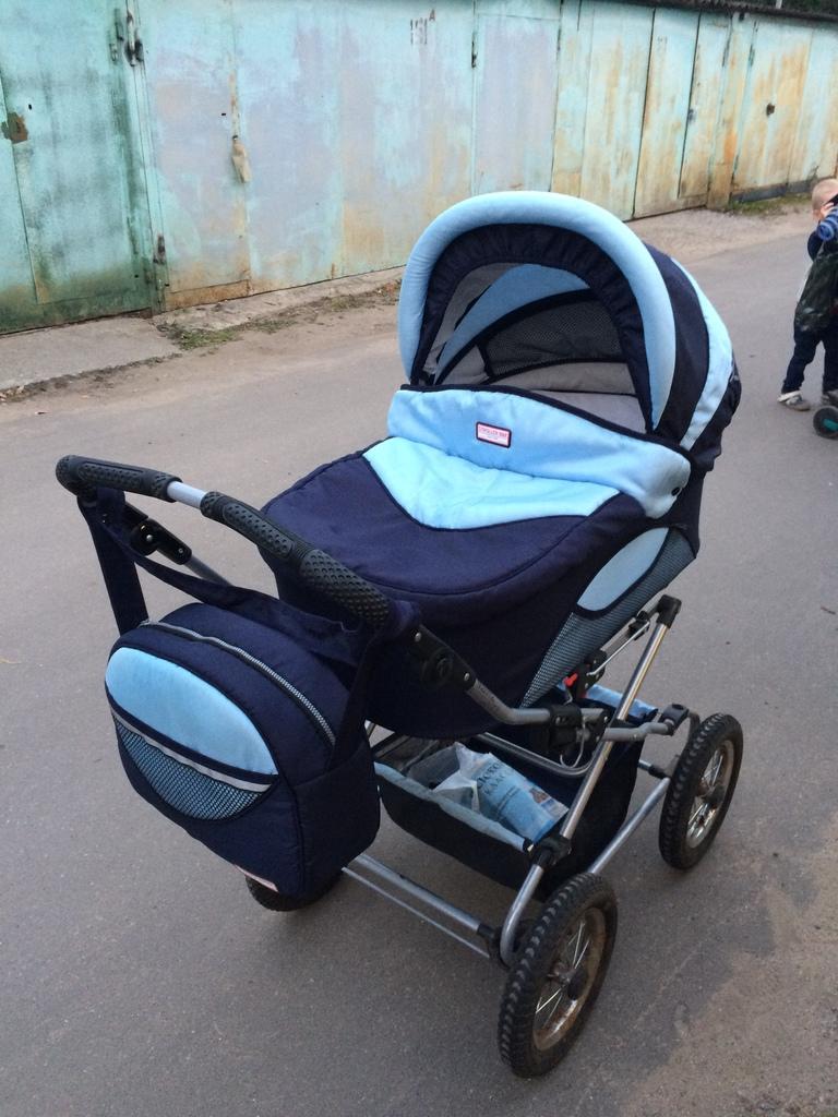 Stroller B&E Maxima ELITE (2 в 1) б/у
