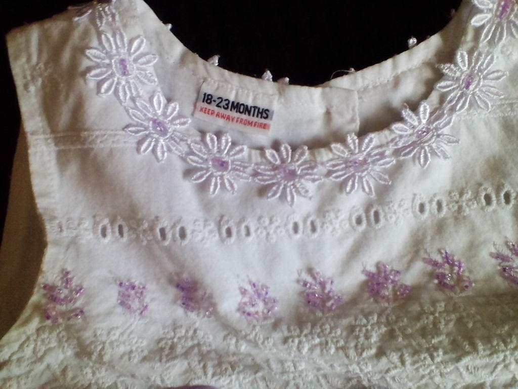 Шикарное нарядное платье 18-24-36 ромашки Остин