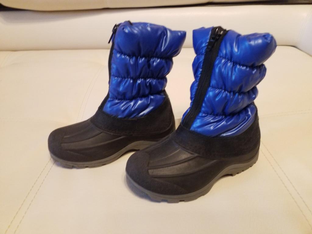 Зимние сноубутсы сапоги резиновая калоша р. 28 Ит