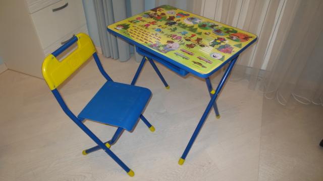 Стол и стул Деми №3