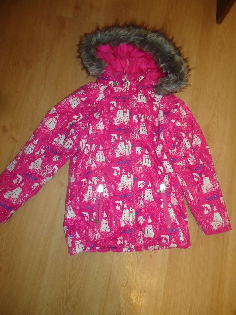 Зимняя куртка для девочки Reike размер 140-146