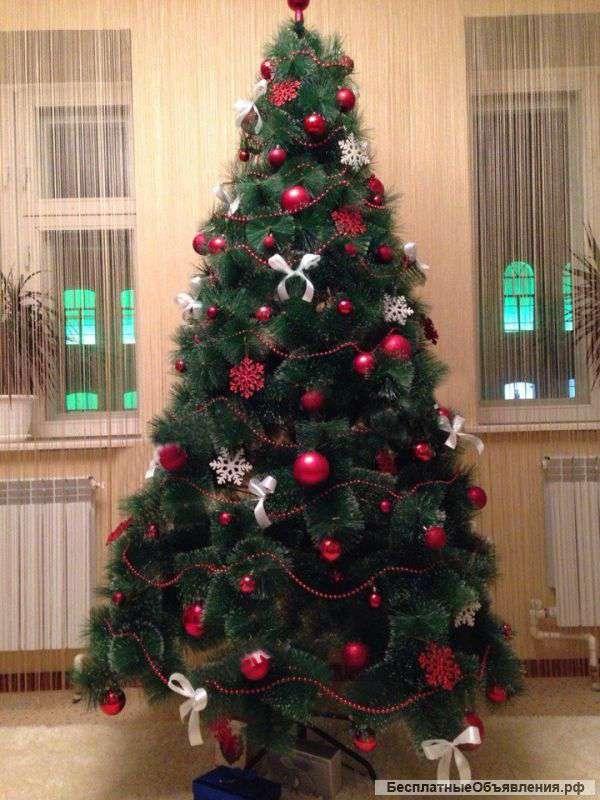 Новогодние ёлки 150 и 180 см