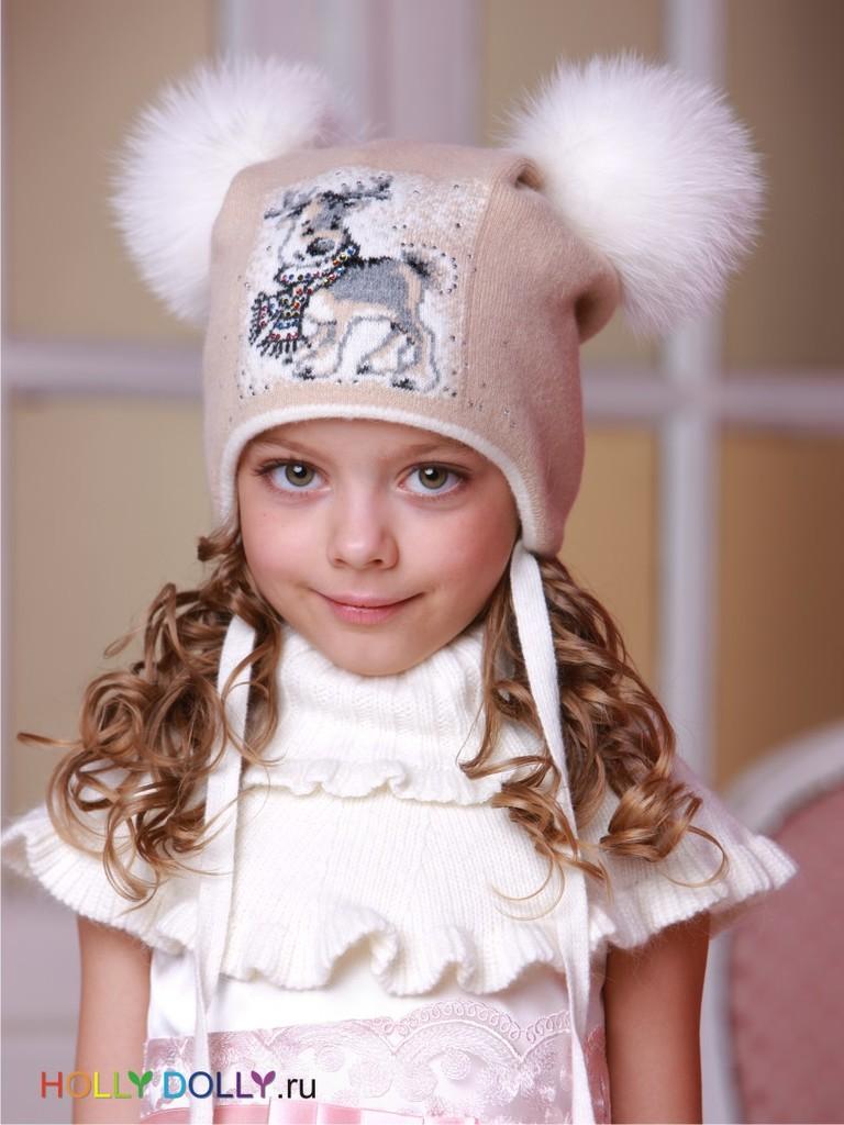 Элитные зимние шапки для девочек