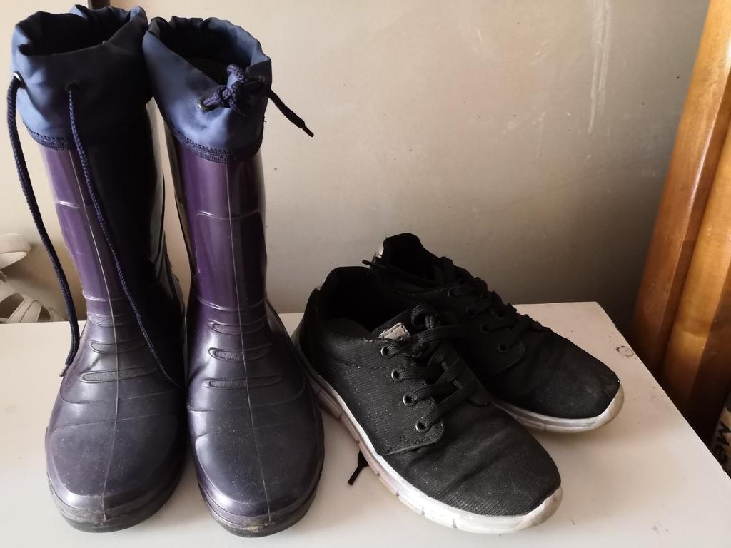 Пакетом обувь 500