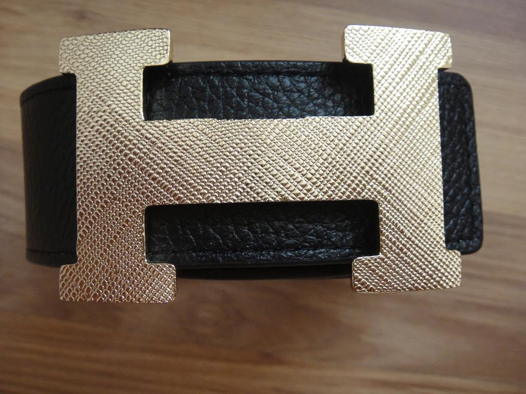 кожаный Ремень Hermes Paris(двухсторонний )