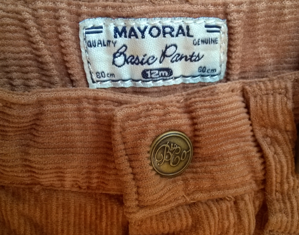 Mayoral(Испания) Брюки вельветовые