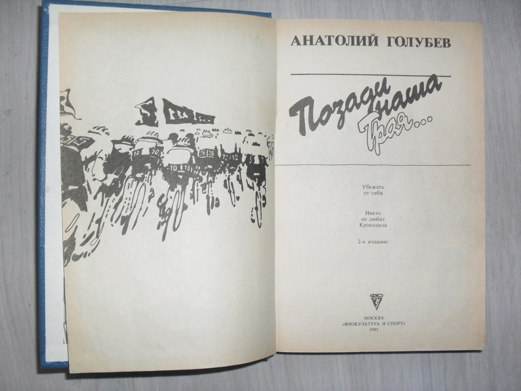 Книга Позади наша троя. Анатолий Голубев