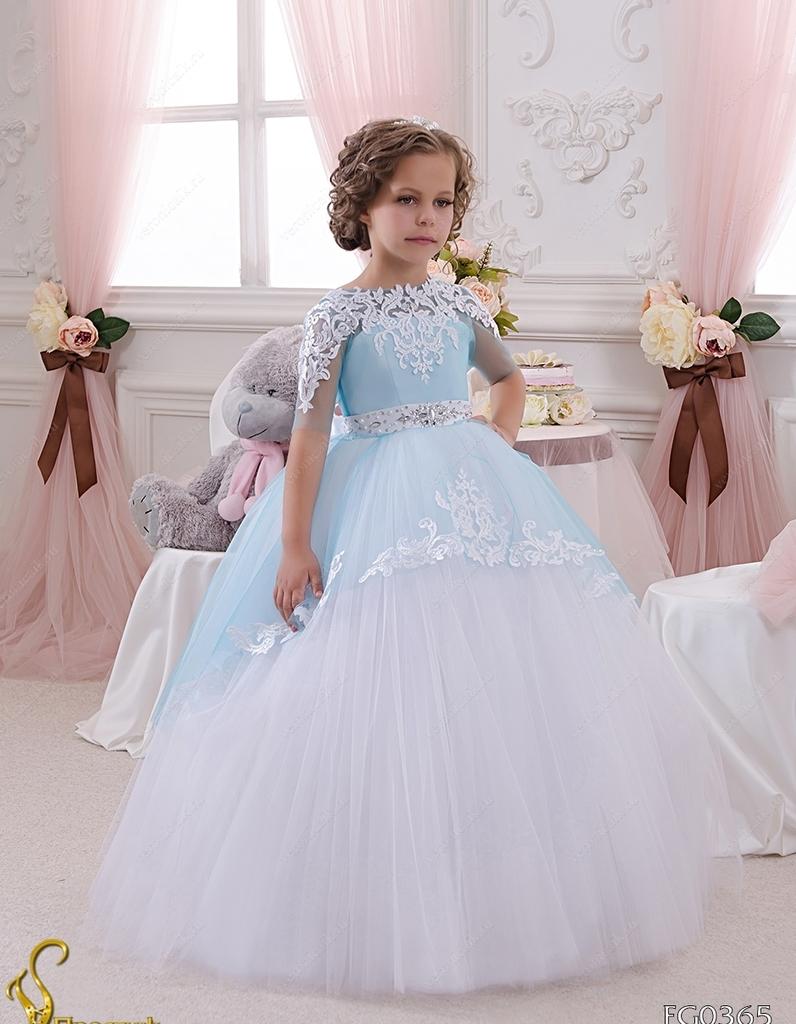Красивое праздничное детское платье