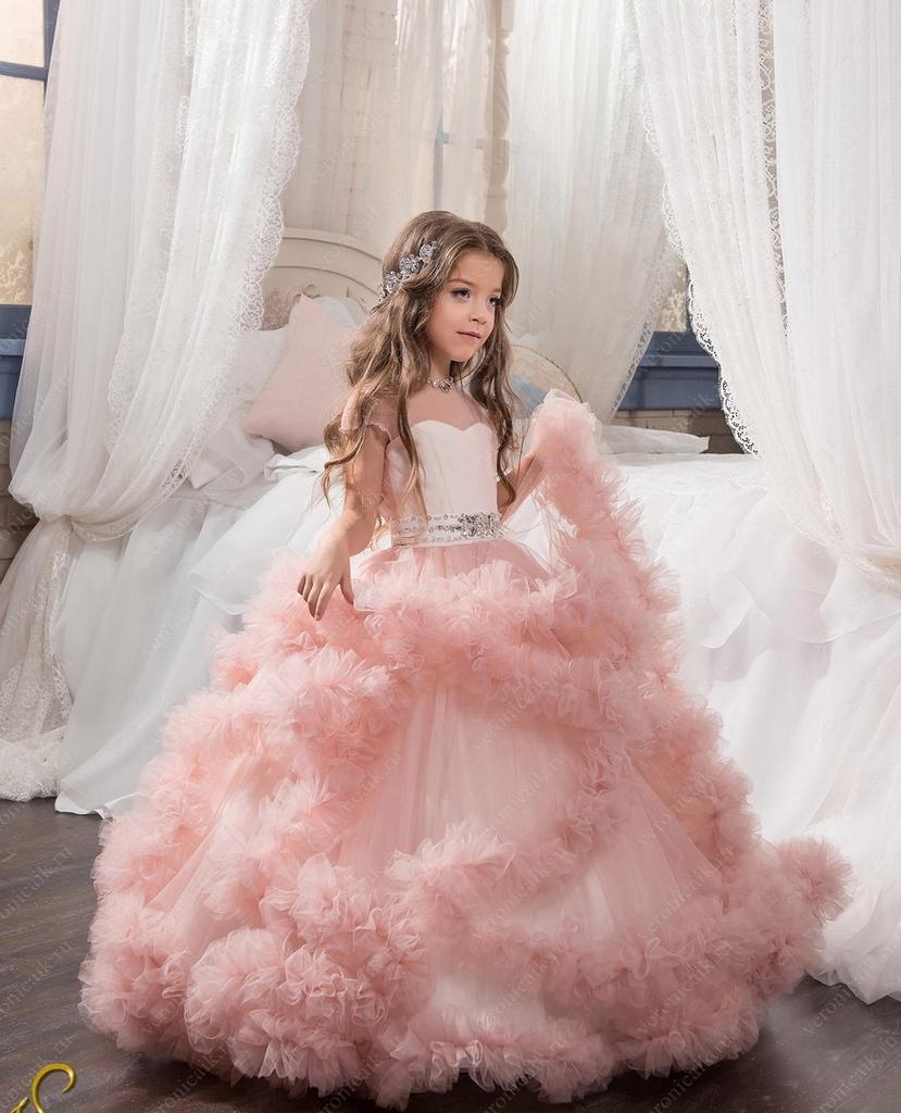41ce736caf4ab9c Продаю детские бальные платья в пол. в стиле облако в Москве - Барахолка  Бебиблога