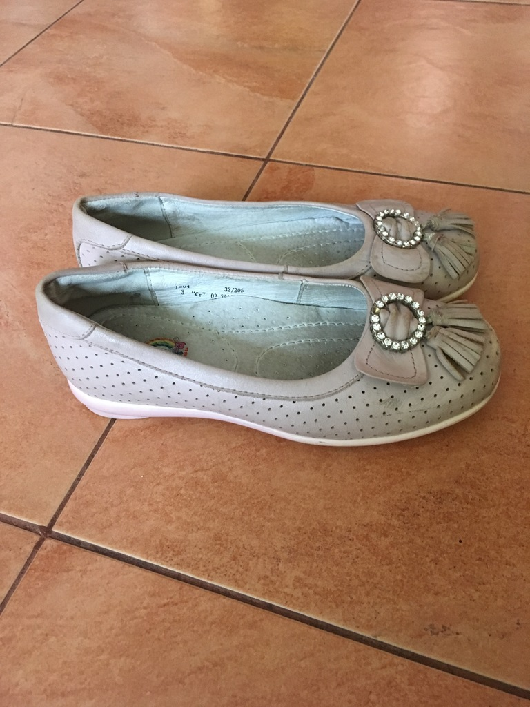 Туфли 32/кожа-20,5 см.