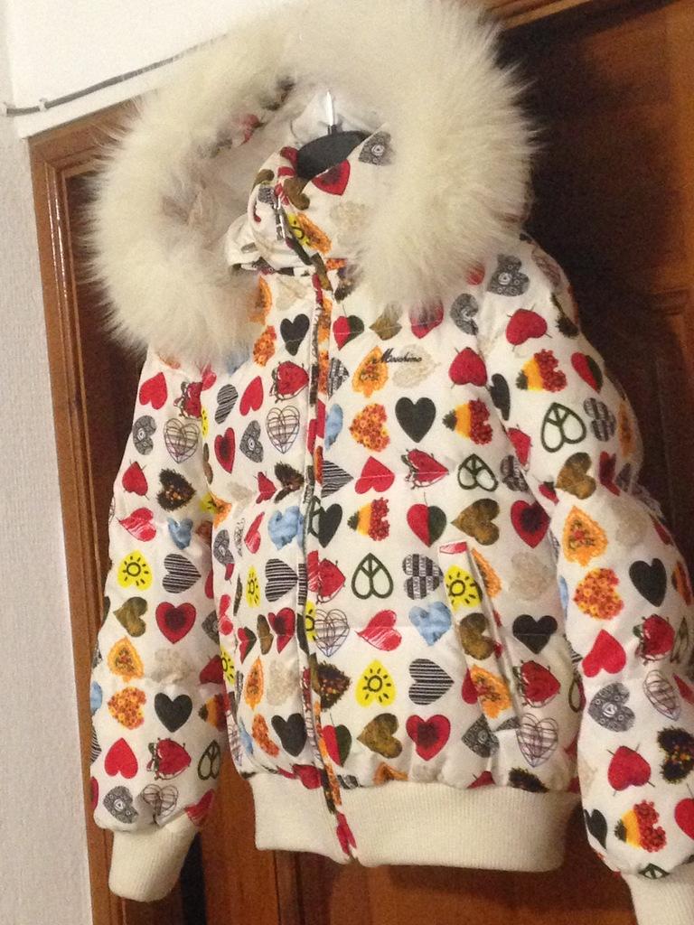 Куртка Пух Moschino 6(116)