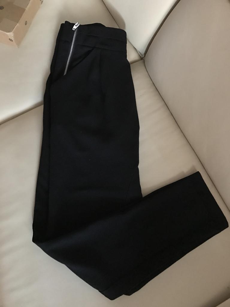 Брюки чёрные H&M