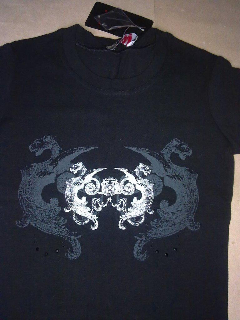 Женская футболка новая Глэм Рок. размер 44