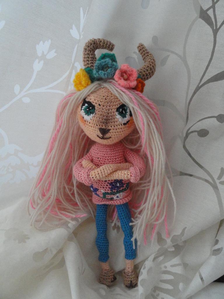 купить вязаную куклу ручной работы в москве микрорайон