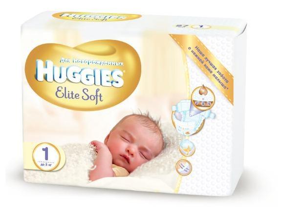 Хаггис элит софт для новорожденных картинка