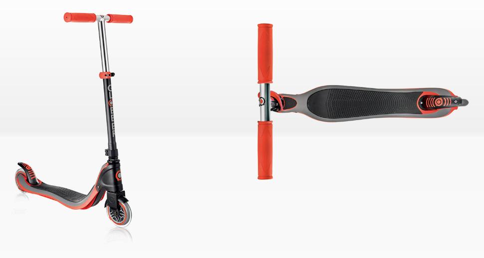 Самокат двухколесный Globber «Flow 125 lights» Нов