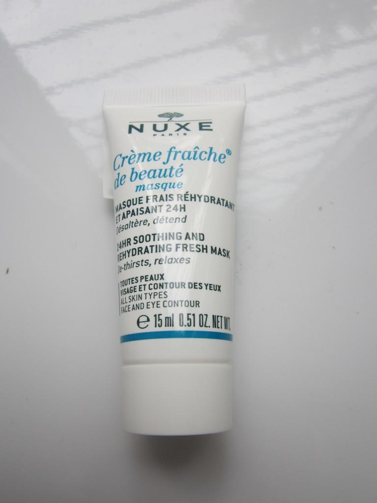 Nuxe Creme Fraiche Увлажняющая успокаивающая маска