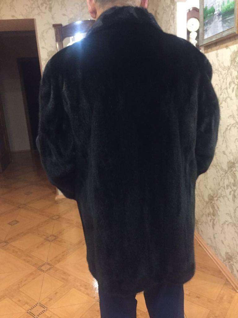 Норковая шуба мужская 54 р