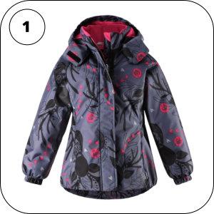 Зимняя финская детская одежда для девочек
